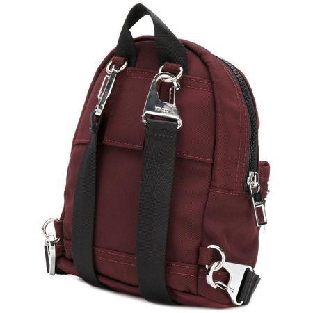 KENZO Mini Tiger Canvas Backpack - Bordeaux