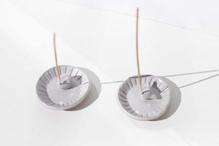 Rami Kim Singing Girl Incense Holder - White