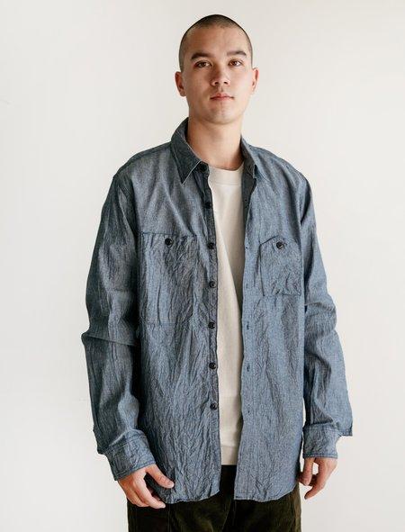 Engineered Garments Work Shirt - Indigo Chambray