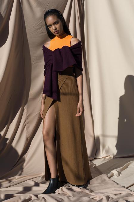 Pari Desai Chavara Sweater Skirt - Ginger