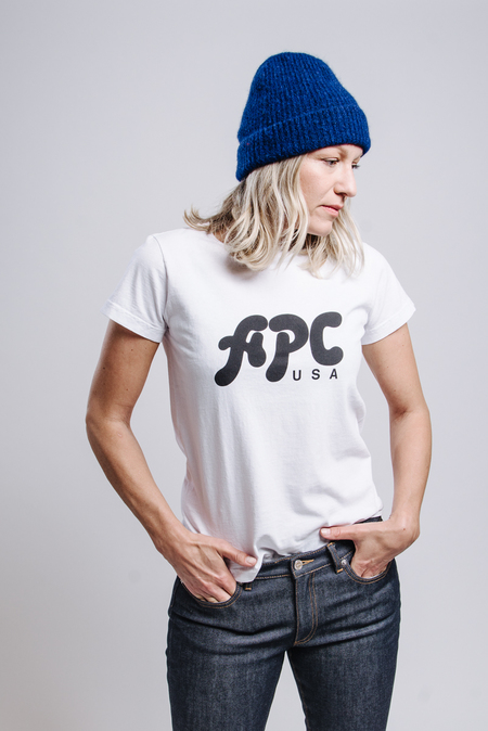 A.P.C. Nancy T-Shirt - Blanc