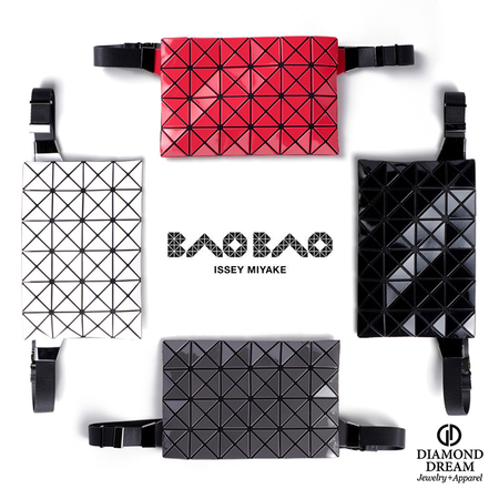 Issey Miyake Bao Bao Prism Waist Bag - Red