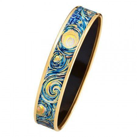 FreyWille Hommage A Vincent Van Gogh Boredered Bangle Miss - Eternite