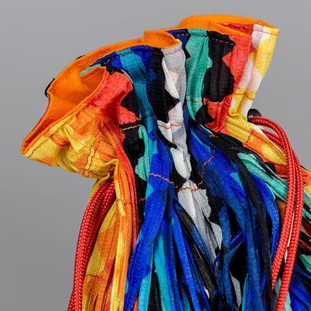 Issey Miyake Light Breeze Bag - Multi Color Fringe