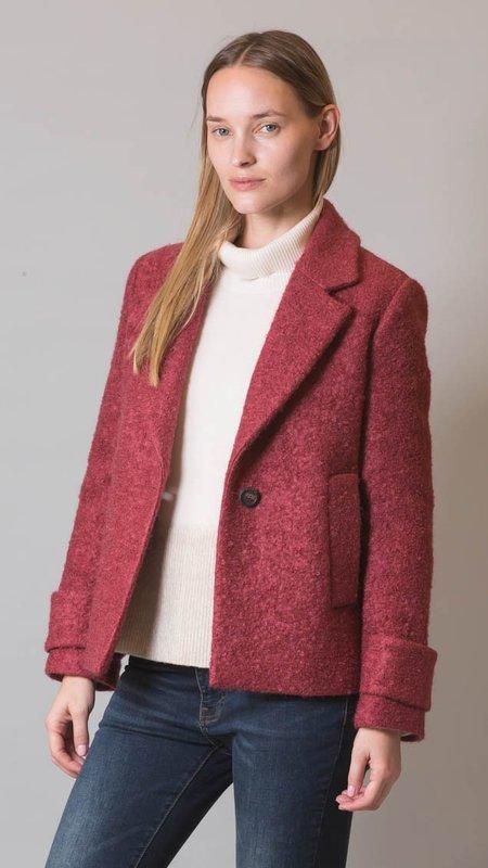 Peserico Mohair and Wool Blazer - Rose