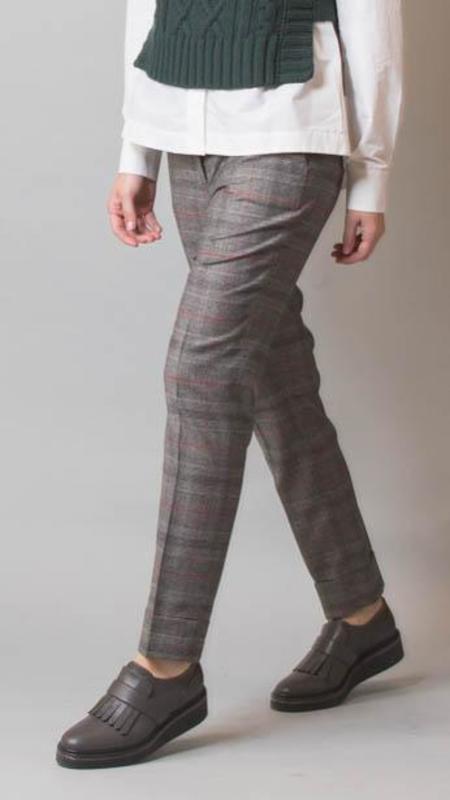 Peserico Plaid Pants