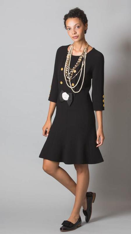 Edward Achour Paris Short Dress - Black