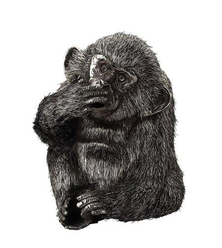 Buccellati Silver Furry Monkey