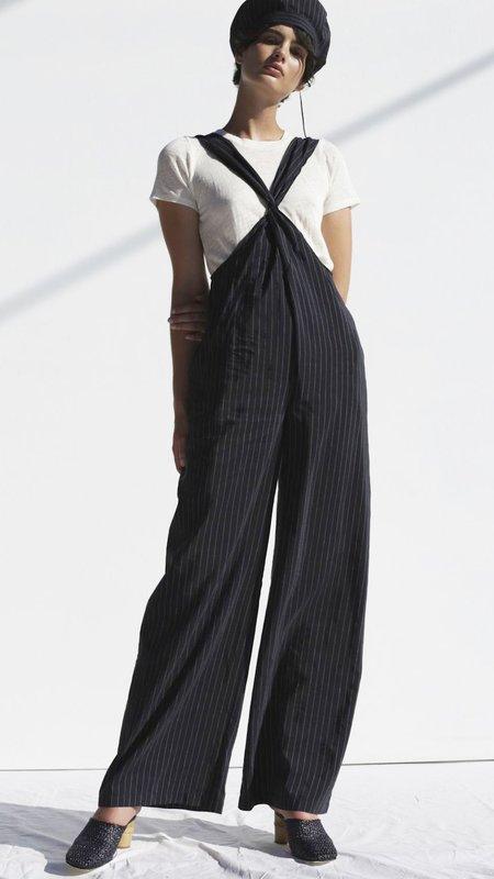 Shaina Mote Wabi Jumpsuit - Pinstripe