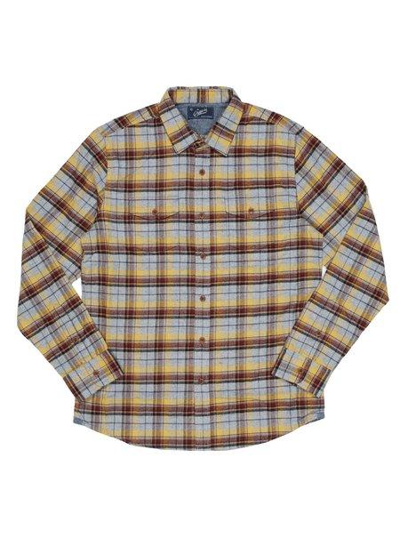 Grayers Falmar Flannel - Yellow Plaid