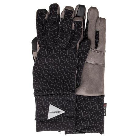 and wander Polartec Gloves - Black