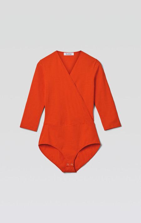 Rodebjer Louise Bodysuit - Blood Orange