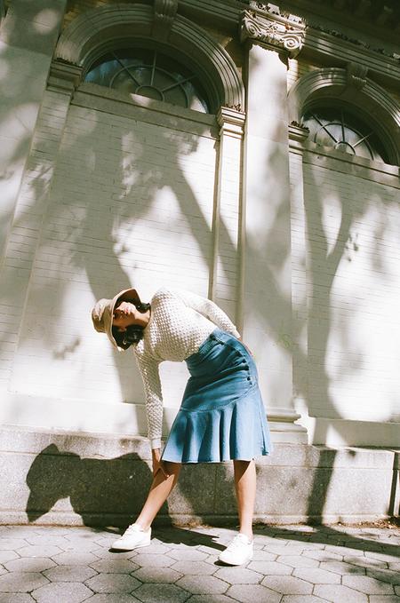 Ajaie Alaie Bonita Skirt - Denim