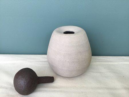 Jennifer Joh Stone Sculpture Vase