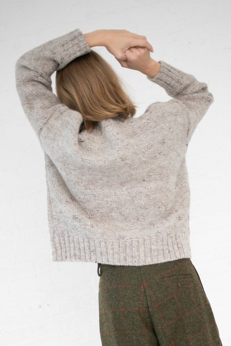 Ichi Antiquites Wool Sweater - Beige