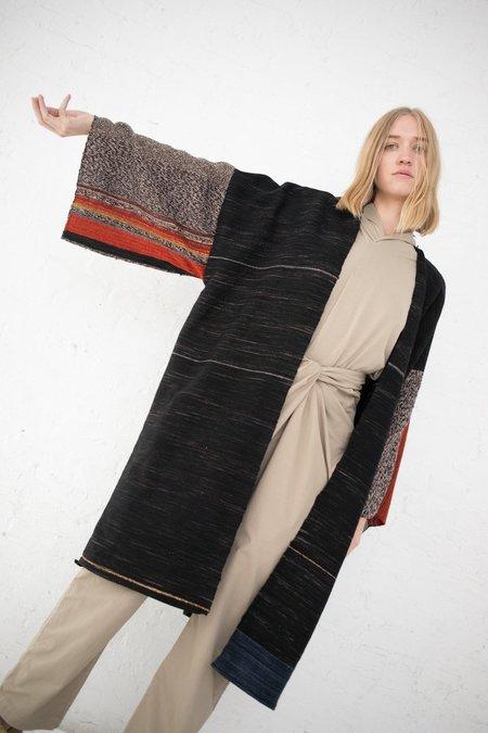 Jess Feury Woven Kimono - Smoke