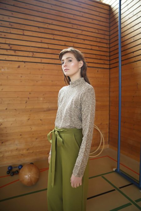 Claudia Nabholz Trousers - Olive Green