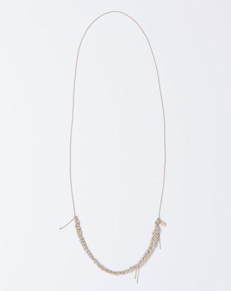 Arielle De Pinto The Skinny Necklace - Silver