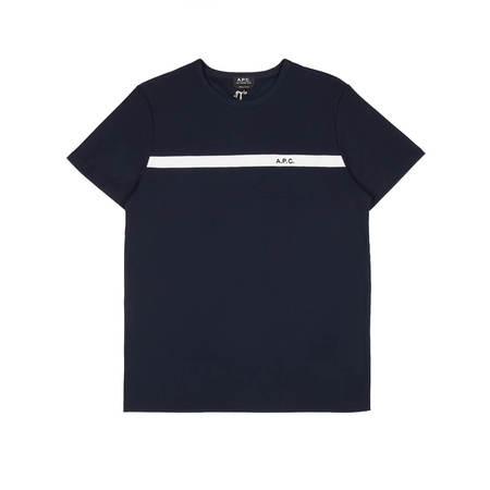 A.P.C. Yukata T-shirt - Dark Navy Blue