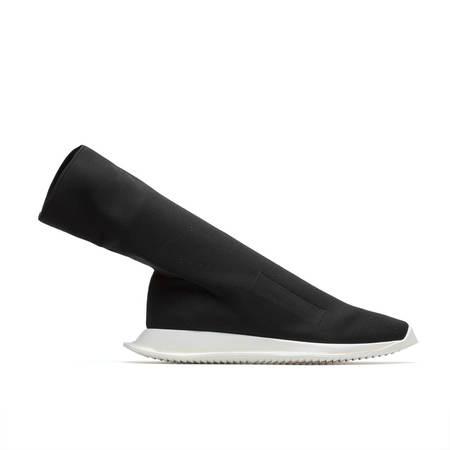 RICK OWENS DRKSHDW Runner Stretch Sock Low Sneaker - Black