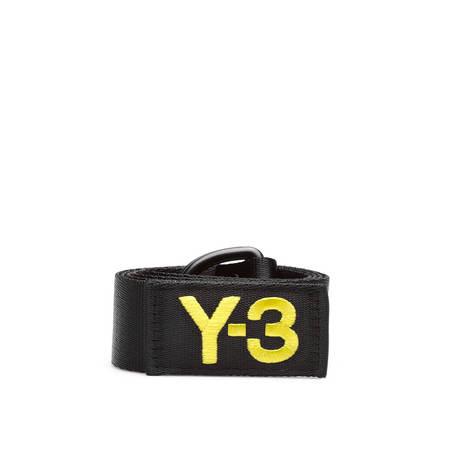 Y-3 Slogan belt - Black
