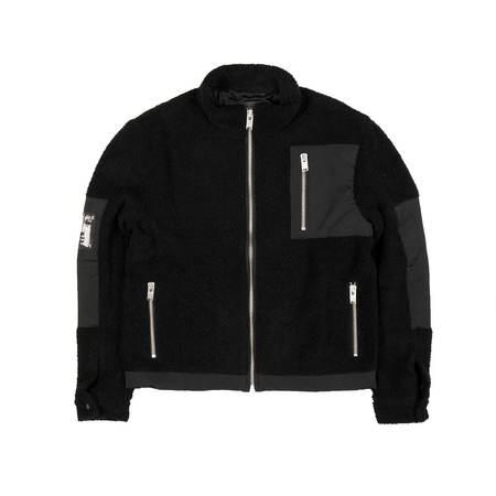 MISBHV Techno Fleece Jacket - Black