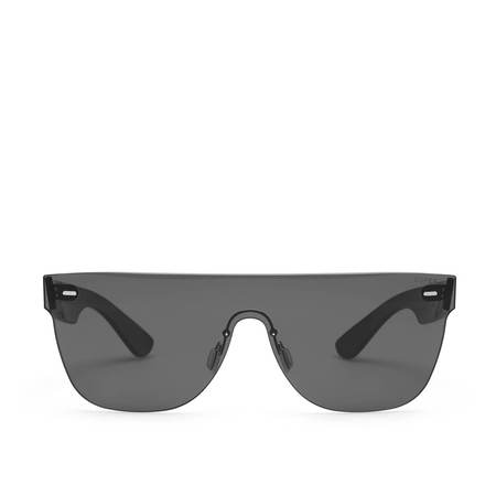 Super Sunglasses Tuttolente Flat Sunglasses - Black