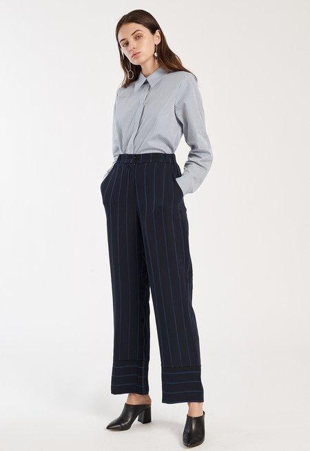 Just Female Melina Pants - Dark Sapphire