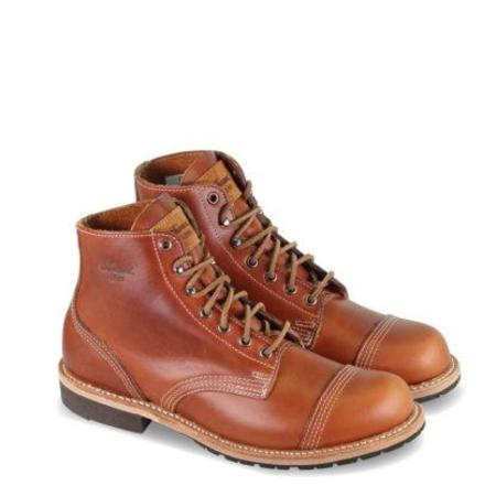 1892 by Thorogood Dodgeville Cap-Toe Boot - Cognac Cavalier