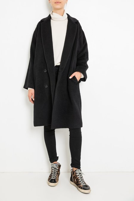 pas de calais LONG COAT - BLACK