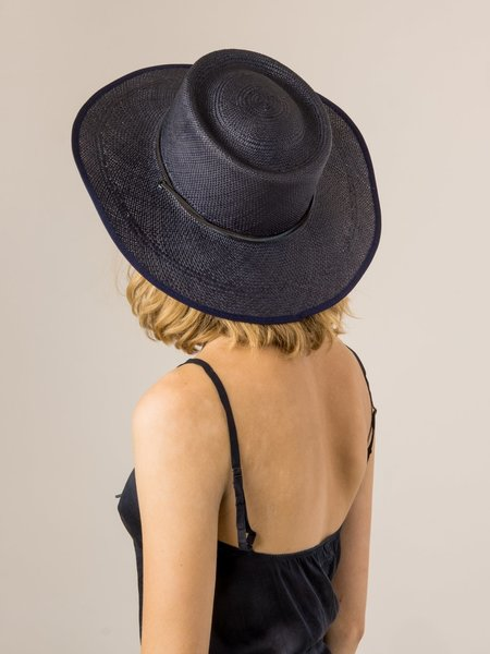 Brookes Boswell REINETTE IN PANAMA STRAW