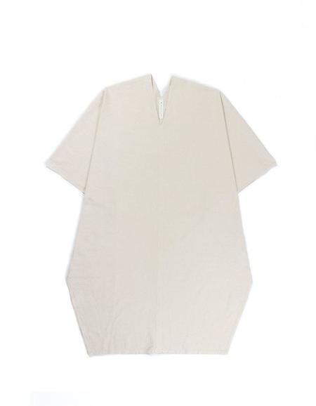 Prospective Flow SHIN Longline Shirt - Natural
