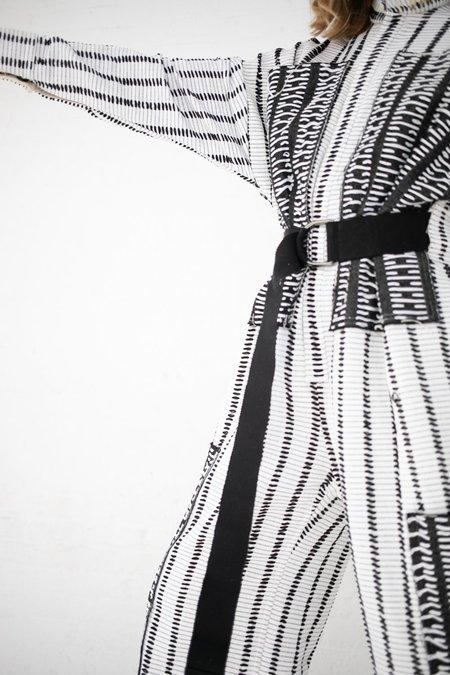 Luna Del Pinal Jumpsuit - Black/White