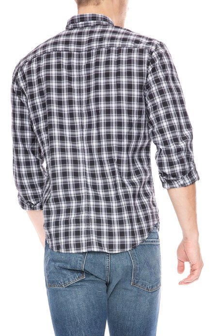 Frank & Eileen Luke Cotton Flannel Shirt - Plaid