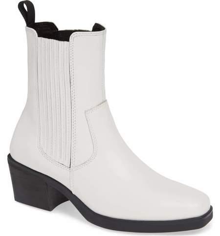 Vagabond Simone Chelsea Boots - White