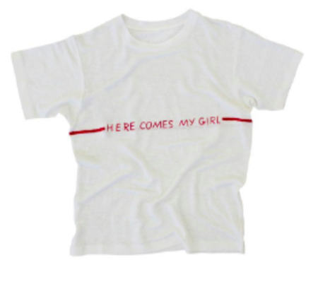 Banner Day Here Comes My Girl T-Shirt - WHITE