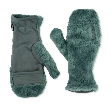Unisex Houdini Hairy Magic Mitts - Storm Green