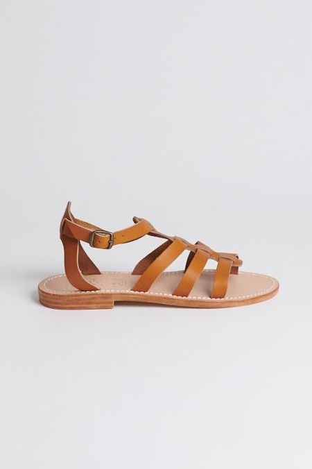 La Botte Gardiane Transat 1 Sandals - Natural Light Brown