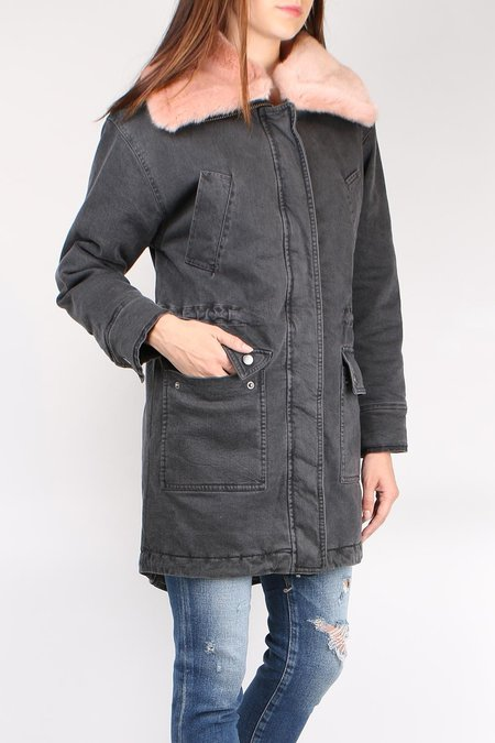 Margaret O'Leary Squaw Valley Coat - Charcoal