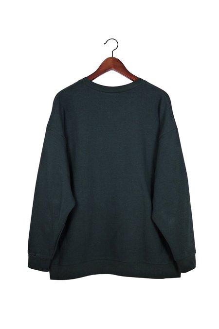 Unisex Can Pep Rey Classic Japanese Cotton Sweater - Caviar