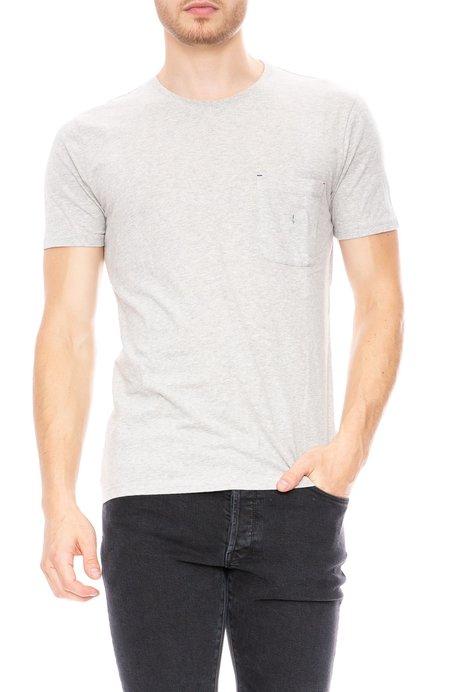 Commune de Paris Short Sleeve Pocket T-Shirt - Marl Grey