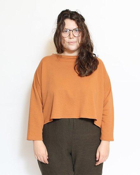 revisited Simona Top - Tangerine