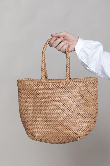 Dragon Diffusion Grace Basket Small Bag - Natural