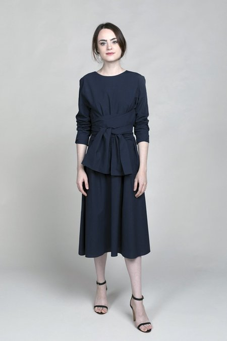 Merlette Kiakora Dress - Navy