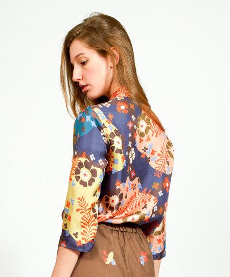 Apalma Juana Shirt - NAVY
