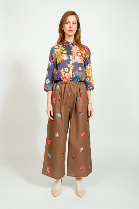 Apalma Lucia Pants - COFFEE