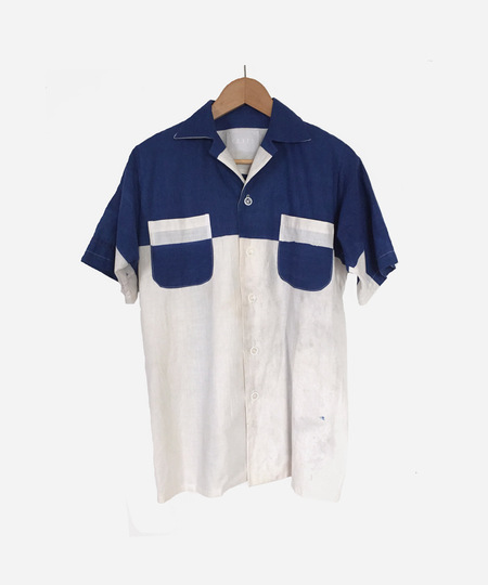 COATZ Letter X Shirt - Blue