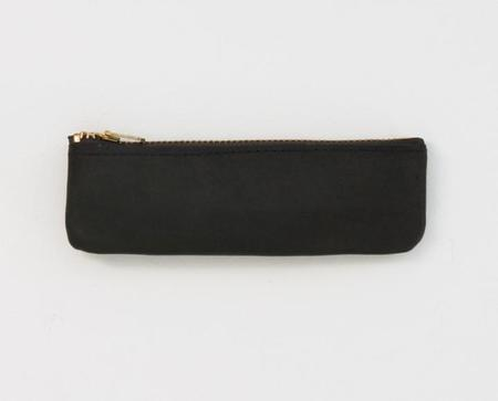 Apron & Bag Leather Coin Pouch - Black