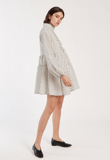C/MEO Even Love Dress - White