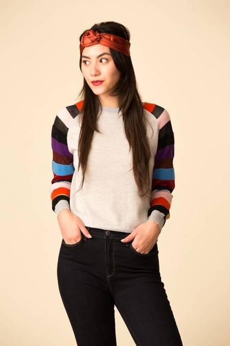 Replica Los Angeles Discoball Sweater - Silver/Multi